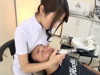 Sexual Fantasy With Hot Milf Dentist Helps Patient To Better Stand The Pain