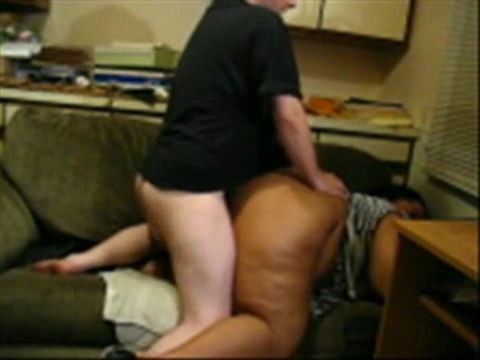 Amateur BBW Cuckold Ebony Gets Hard Fucked By White Guy