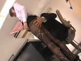 Hot Intern Girl Uses Fact That Her Boss Is Footjob Fetishist To Get Job For Permanent