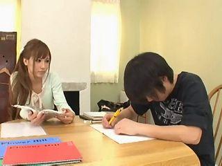 Private MILF Teacher Knows How To Reward Teenage Boy For Hard Work