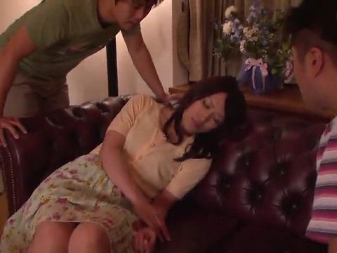 Home Invasion In Milf Neighbor Nagase Ryoko Apartment Result With Hard And Rough Fucking