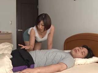 image Mom sucks her stepsons dick then gets fucked by him