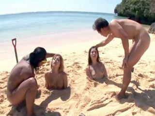 Nude beach women pageant