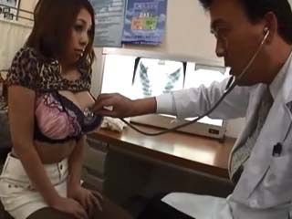 Perverted Doctor Took Advantage Over Busty Girl During Routine Breast CheckUp
