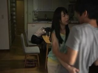 Guy Couldnt Believe That Wifes Younger Sister Takaoka Ryo Sexually Assaulting Him While His Wife Is Few Steps Away
