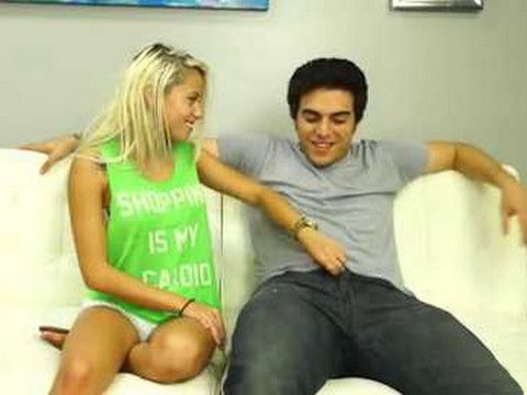 While Parents Were At Work Naughty Blonde Teen Sister Show Her Real Face To Her New Stepbrother