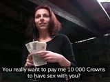 Czech Sex Addict Teen Felt Like She Won Lottery When Guy Offer Her Money For Sex