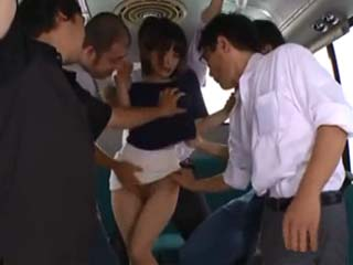 Terrified Woman Yukina Brutally Assaulted By Group Of Maniacs In Public Bus