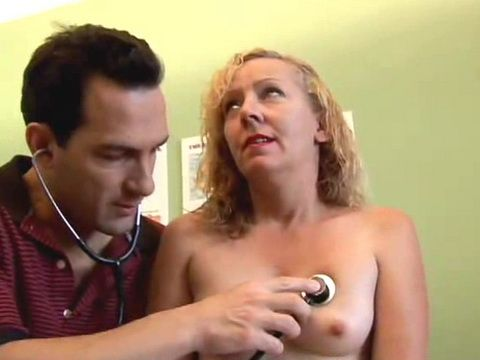 Young Doctor Has The Best Cure For Mature Sluts