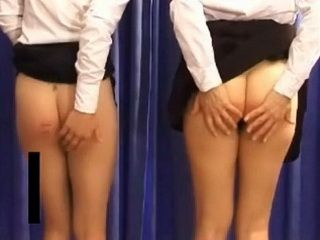 Caning Girls in Punishment Room xLx