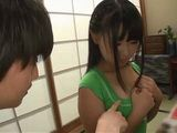 Immodest Boy Took Advantage Of Busty Classmate Sato Airi