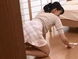 Guy Just Couldnt Hold Himself From Assaulting New House Maid Kimura Na While His Wife Was At Work