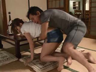 Milf Mother Kitagawa Erika Couldn't Do Anything To Stop Deluded Step Son Of Doing This Terrible Thing