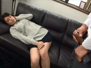 Exhausted Sleeping Girl Gets Fucked By Dirty Computer Repairman