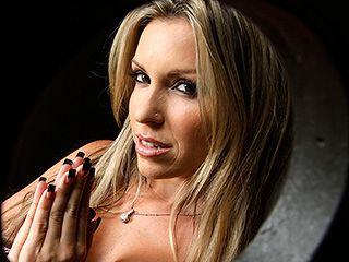 Blonde Slut Finds Gloryhole In Church Confessional