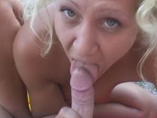 German Milf Sucked Dick And Riding Dick on The Beach