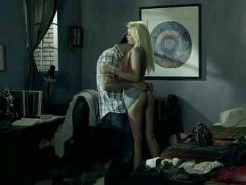 Beautiful blonde having hardcore sex with horny stud