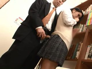 Reckless Schoolgirl Swooped And Fucked By Complete Stranger At Library