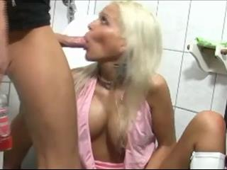 Drunk German Slut Anal Fucked