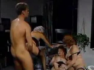 Kinky Grandmas Having Group Sex
