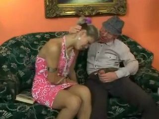 Mouthwatering Grandpa Took Advantage Over Grandsons Girlfriend