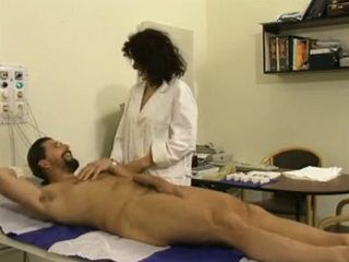 Devoted Milf Doctor Examine To Detail Male Patient