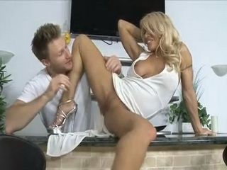 Girlfriends Blond MILF Mother Goes Too Far With Teasing