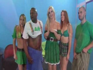 Celebrating St. Patrick Day With Group Fuck