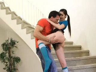 Stepfather With No Morals And Slutty Teen Are Crossing Every Limits