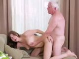Nusty Grandpa Still Gets Some Teen Pussy