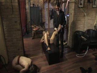 BDSM Bitch Rough Tortured To Orgasm