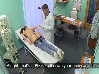 Patient Has Some Serious Back Pain And Doc Will Do Anything To Help Her Feeling Better