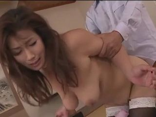 Busty Japanese Wife Never Expected This From Her Boss