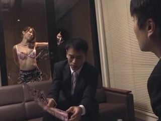 Japanese Wife Makes Sure New Client Will Sign A Contract With Her Husband
