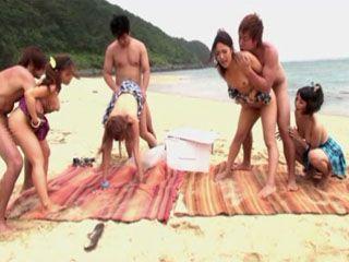 Unforgettable Day At Beach With 4 Teens - Sakurai Ayu Ayaka Tomoda Ninomiya Nana Mizusaki Akane