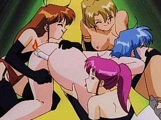 Gorgeous hentai shemale hot group gangbanged