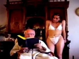 Young Girl Fucks Grandpa