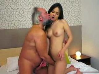 Beautifull Anina Fucking A Grandpa