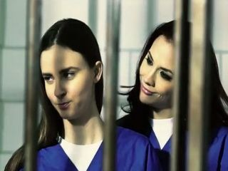Dominant Lesbian Milf Got New Bitch To Play With Behind Bars
