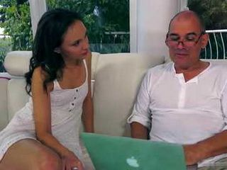 Hottie Made Mistake When Stayed Alone With Bf's Crazy Dad