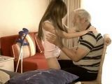 Naughty Girl Almost Cause Heart Attack To Old Grandpa