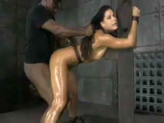 BDSM Milf Doggystyled And Creampied By Black Bull