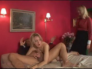 Lewd Milf Step Mother Asks Stepson To Join Them In Threesome