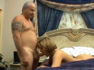 Grandpa Loves Fucking A Wet Teen Pussy
