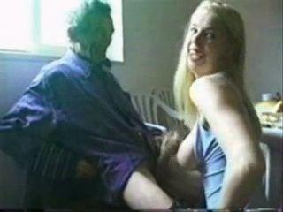 Kinky Teen Girl Jerks Off Granpas Cock