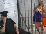 Stunning Hot MILF Street Hooker Knows How To Convince Jailer To Get Her Out Of Prison