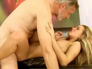 Old Neighbor Fuck Young Blonde Girl