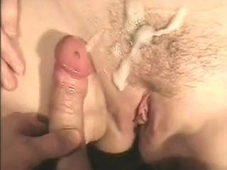 Horny Mature Housewife Doing Anal And Gets Cumshot On Hairy Pussy