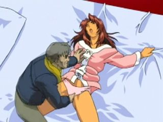 Coed anime gets fingered her pussy
