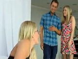 When Gf Told That Someone Would Like To Join Them Fucking He Never Thought That Its Milf Aunt - Jennifer Best Karla Kush